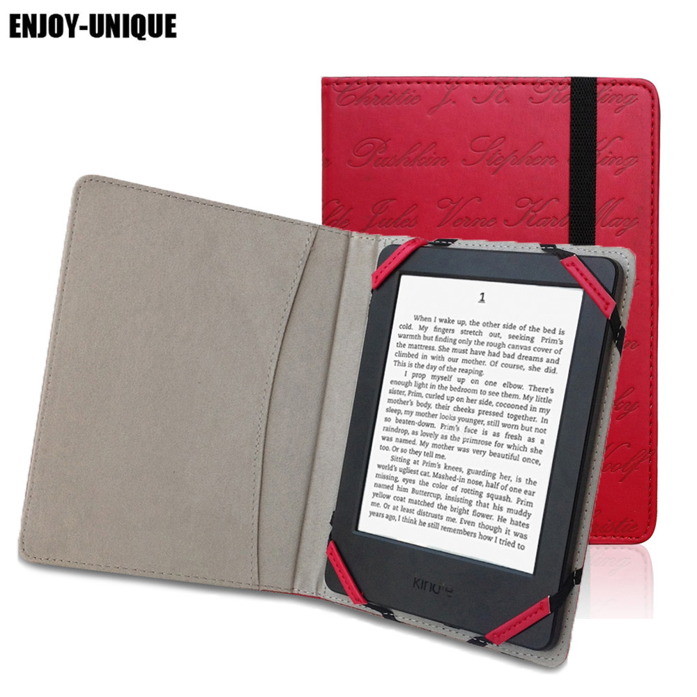 Retro Case Cover For PocketBook 622 623 614 611 613 615 625 626 Plus Basic Touch EReader Pouch Sleeve 6 Inch Reader Universal