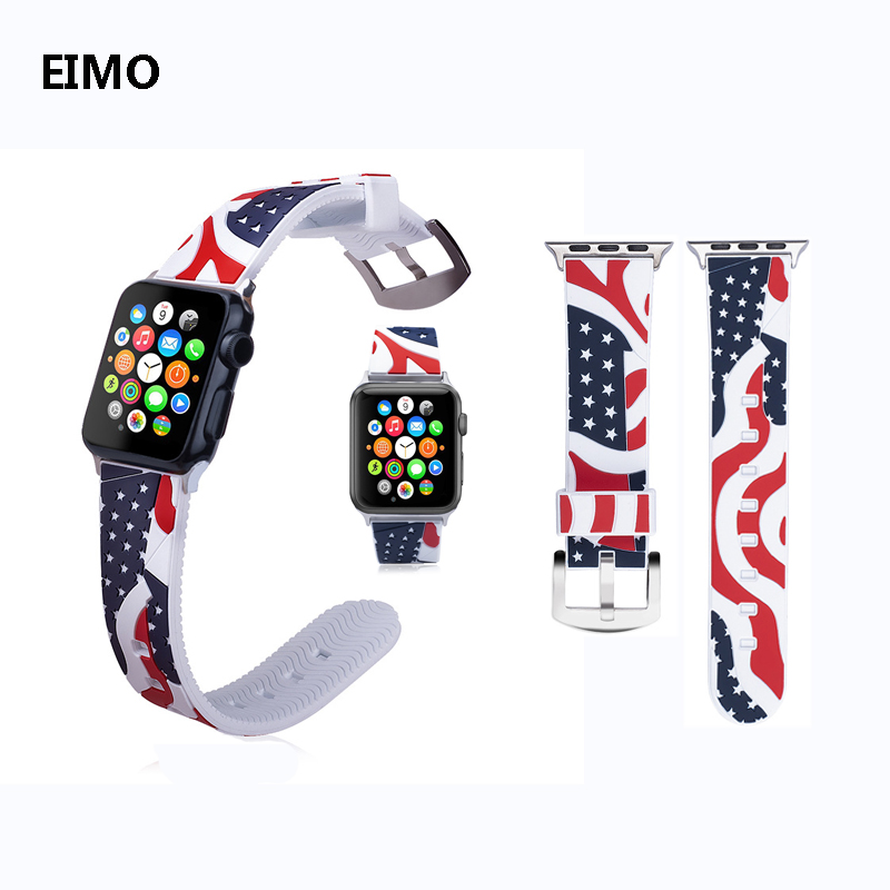New sport Silicone strap For apple watch band 42mm 38mm Wrist Bracelet watchband for iwatch series 3 2 1 accessories Two-color new sport silicone strap for apple watch band 42mm 38mm wrist bracelet watchband for iwatch series 3 2 1 two color watch belt