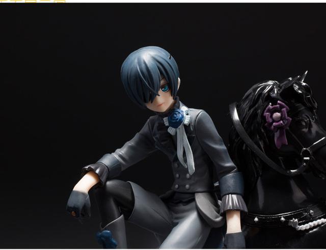 Black Butler Book of Circus Kuroshitsuji Ciel PVC Anime Action Figure Collectible Model 18cm Toy