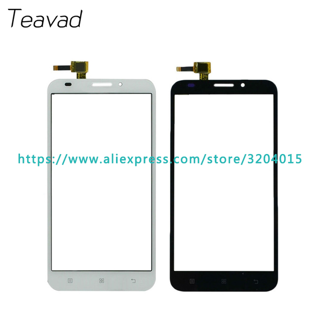 "Replacement parts 5.5"" For Lenovo A916 Touch Screen Digitizer Sensor Outer Glass Lens Panel Black White"