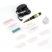 8000R/Minute Permanent Makeup Eyebrow Tattoo Pen Machine Make Up Kit With 50 Needles 50 Tips EU Or US Plugs U-Pick