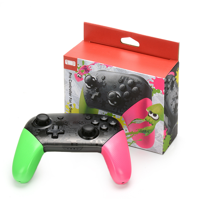 For Switch Pro Bluetooth Wireless Controller For NS Splatoon2 Remote Gamepad For Nintend Switch Console Joystick