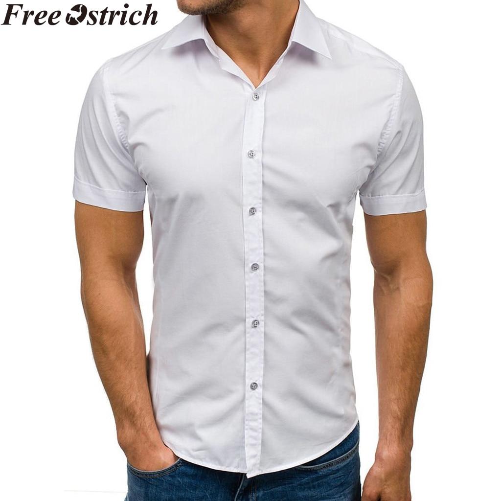 Men Summer Slim Shirt Long Sleeve Business Social Casual Tops Straight Plus Size,Black,XXL