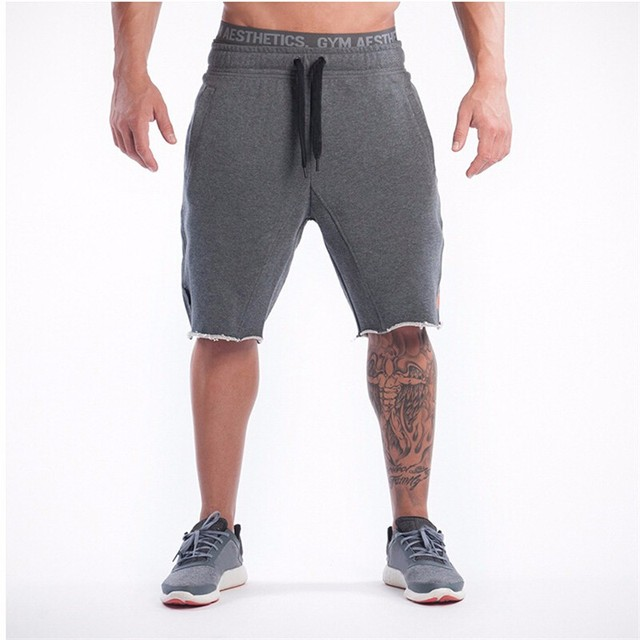 Casual Men Shorts Beach  Board Shorts Men Quick Drying Summer Style Solid Polyester New Brand Clothing Bodybuilding shorts