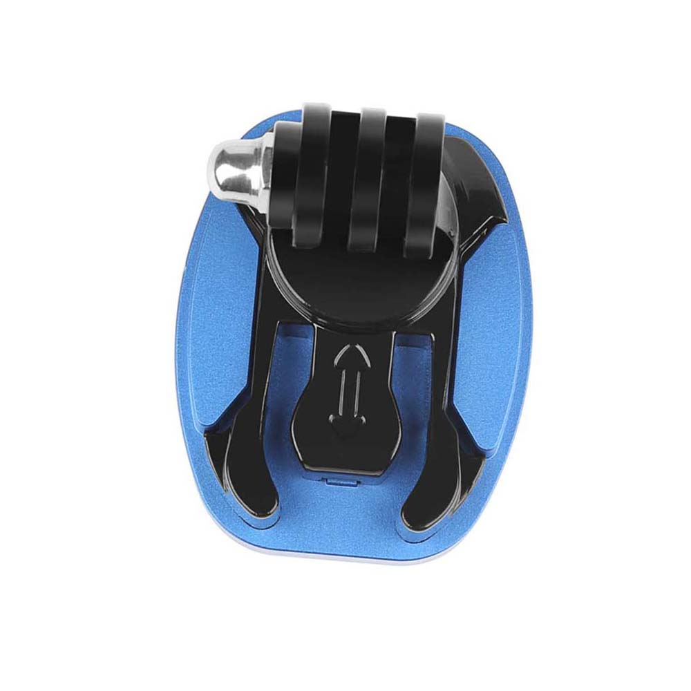 360 Degree Rotate Quick Release Buckle Vertical Surface Mount for GoPro Hero 7 6 5 4 Sjcam Sj4000 Xiaomi Yi 4K Eken Camera in Sports Camcorder Cases from Consumer Electronics