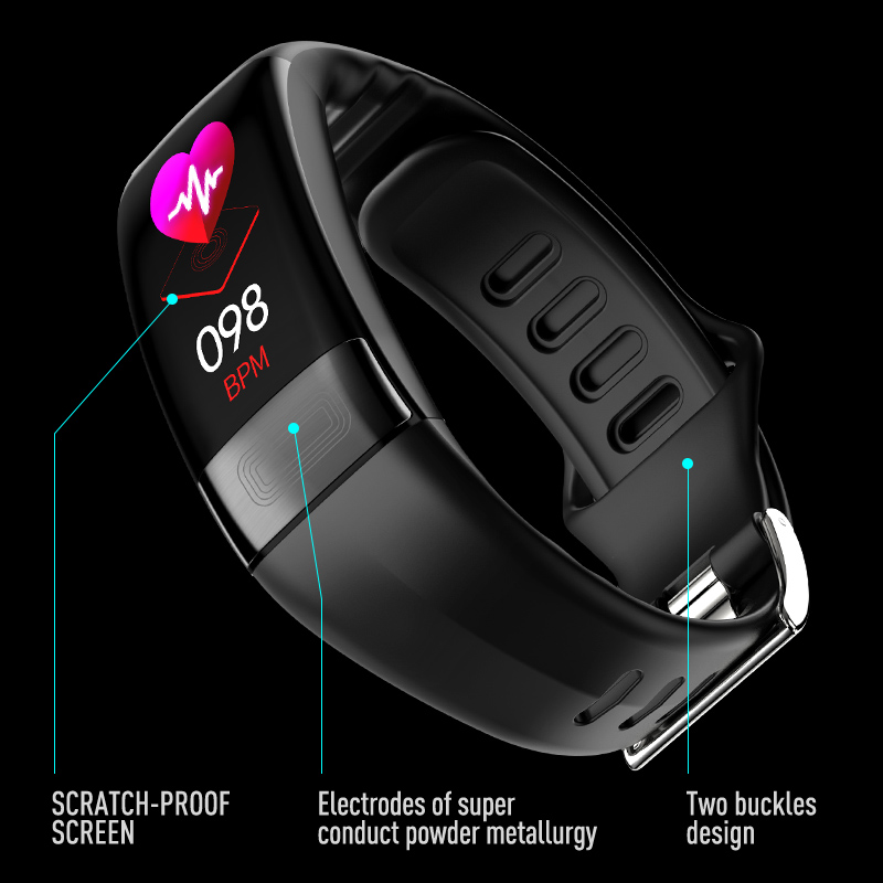 2019 Newest smartband P11 ECG Smart band watch Heart Rate Monitor PPG Smart Bracelet Blood Pressure 2019 Newest smartband P11 ECG Smart band watch Heart Rate Monitor PPG Smart Bracelet Blood Pressure Waterproof Wristband