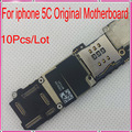 10Pcs/Lot 1000% Quality Guarantee For iphone 5C Motherboard Original Unlocked,16G with Chips+1 Free Tools,Free Shipping