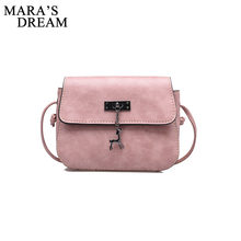 Mara's Dream Shell Women Messenger Bags High Quality Cross Body Bag PU Leather Mini Female Shoulder Bag Handbags Bolsas Feminina(China)