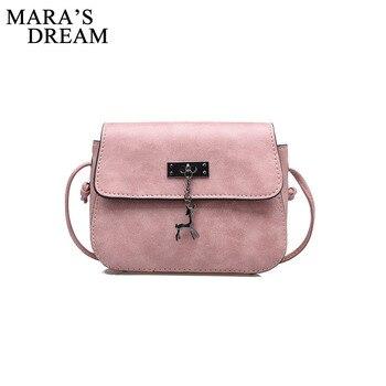 Mara s Dream Women Messenger Bags High Quality Cross Body Pouch Bag PU Leather Shoulder Bag