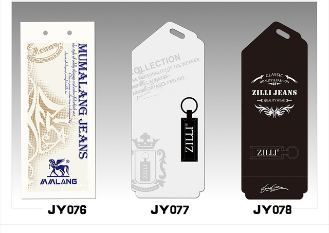 new style all kinds of hang tag/reasonable price/cloth