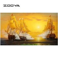 ZOOYA Diy Diamant Malerei Stickerei 5D Platz Voller Diamant Dekoration Europa Mosaik Kit Hand Segel BB262