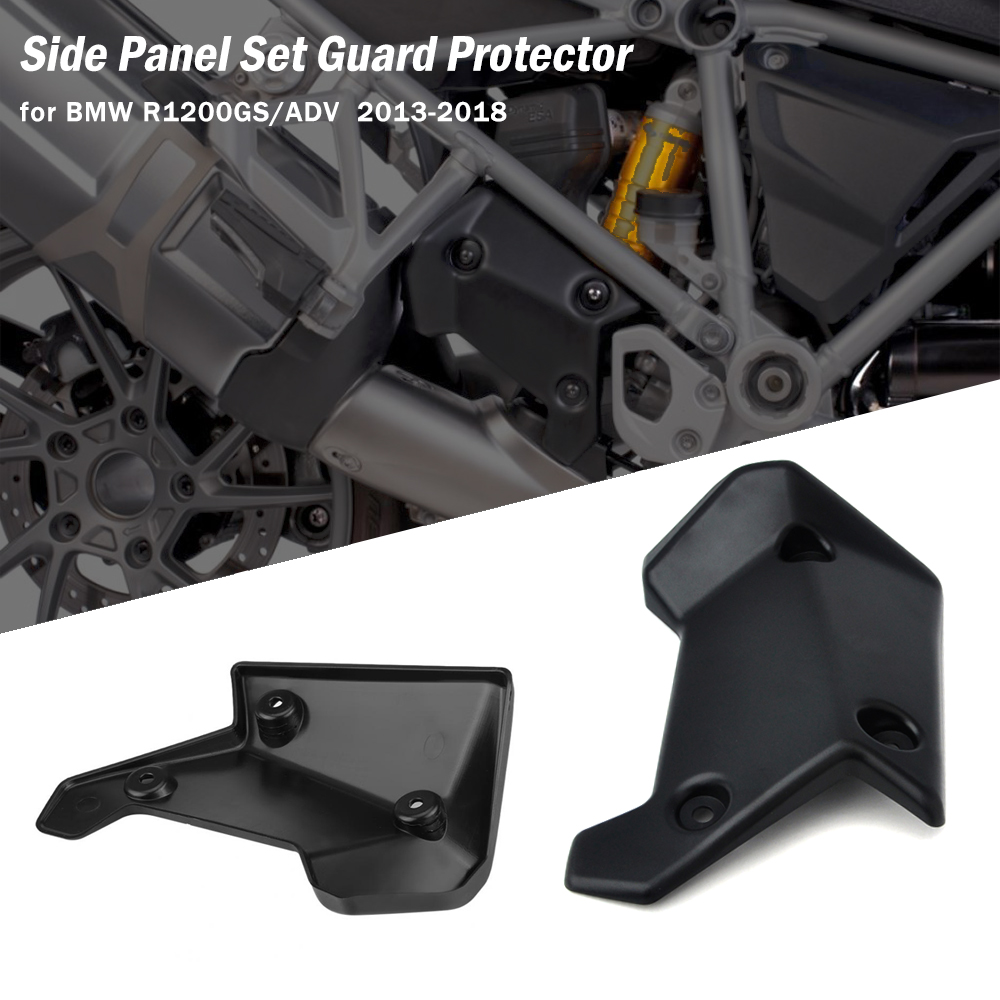 For <font><b>BMW</b></font> R1200 GS Motorcycle Upper Frame Infill Middle Side Panel Set Guard Protector <font><b>R1200GS</b></font> <font><b>LC</b></font> <font><b>ADV</b></font> Motorcycle <font><b>Accessories</b></font> image