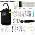 29-one outdoor survival toolkit Survival survival plug-in umbrella rope wire saws fire rods