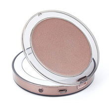 Led освещенное мини-зеркало для макияжа 3X увеличительное компактное портативное чувствительное освещение косметическое зеркало