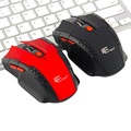 En la acción! 2.4 Ghz Mini portátil Wireless Optical Gaming Mouse Ratones Para PC Portátil Nueva Caliente En Todo El Mundo