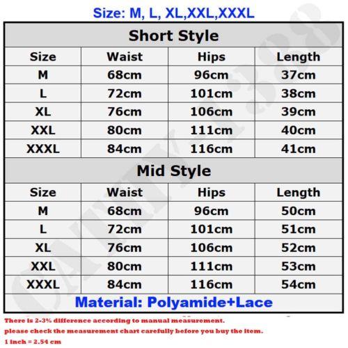 2018 NEW Women's Premium Nylon Daywear Bloomer Slip Pants With Lace Trim M-XXXL