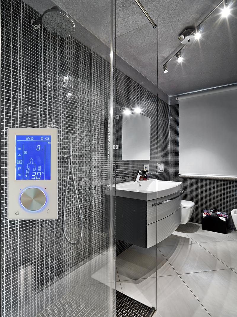 digital shower