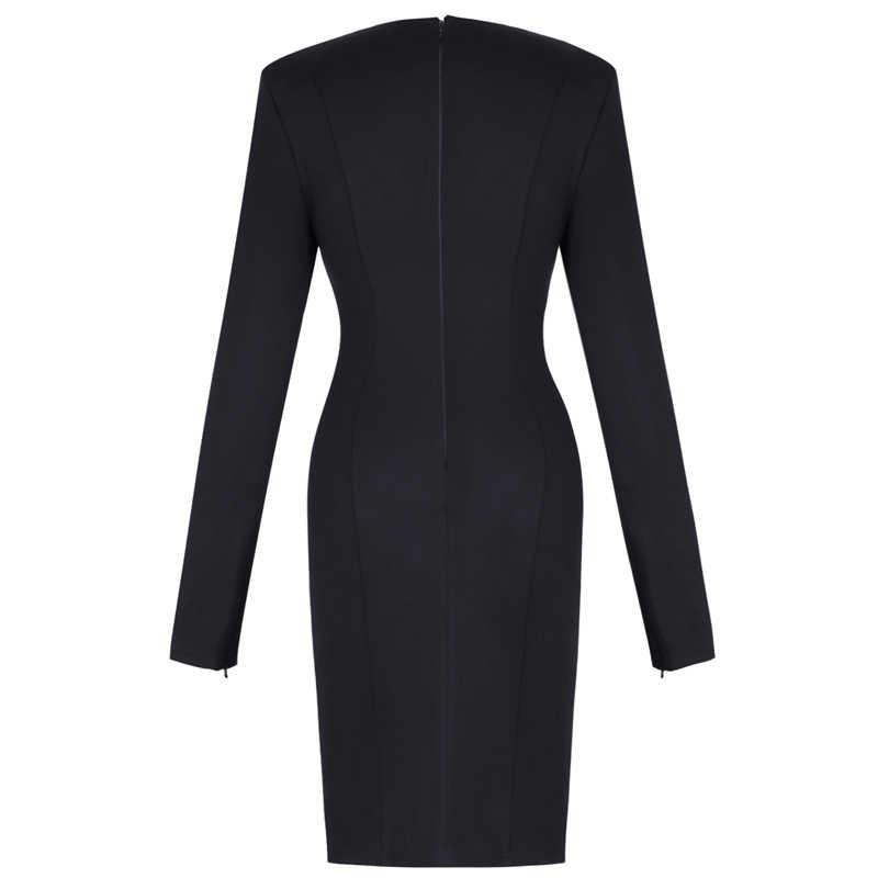 Черное Креповое платье Ocstrade с вырезом лодочкой