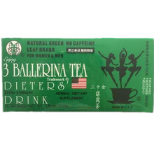 3 Ballerina tea Weight Loss Drink Fat Slimming Herbal 18 Bag