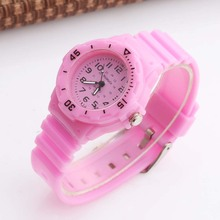 Cute Pink Kids Watches Casual Analog Quartz WOMAGE