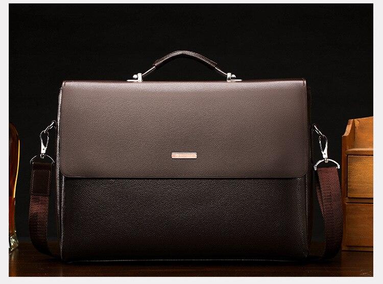 HTB1q9t SCzqK1RjSZFHq6z3CpXa5 Famous Brand Business Men Briefcase Leather Laptop Handbag Casual Man Bag For Lawyer Shoulder Bag Male Office Tote Messenger Bag