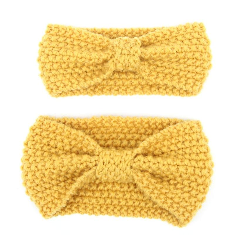 Konstruktiv Heißer Verkauf Mama Und Mich Häkeln Winter Stirnband Set Frauen Knit Stirnband Säuglingshäkelarbeit Stirnband Twist Wärmer Für Mädchen 1 Satz Verkaufsrabatt 50-70%