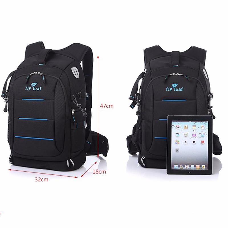 Fly leaf FL 336 DSLR Photo Bag Camera Backpack Universal Large Capacity Travel Camera Backpack For