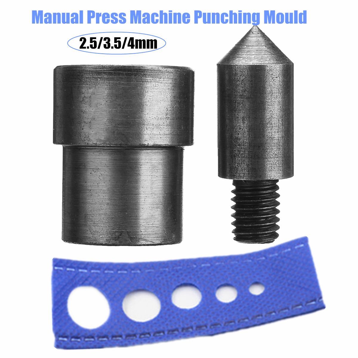 2.5/3.5/4MM Manual Press Machine Punching Mould Handmade Stud Rivet Grommet Eyelets Snap Die Punching Mould