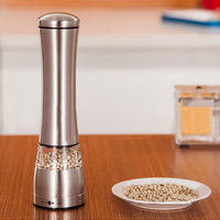 Manual Pepper Grinder Sea Salt Pepper Shakers Adjustable Coarseness Spice Mill Seasoning Muller Ceramic Core Grinding Tools