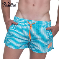 Taddlee Brand Men Beach Board Surfing Boxer Shorts Trunks Quick Drying Plus Size Swim Water Sports