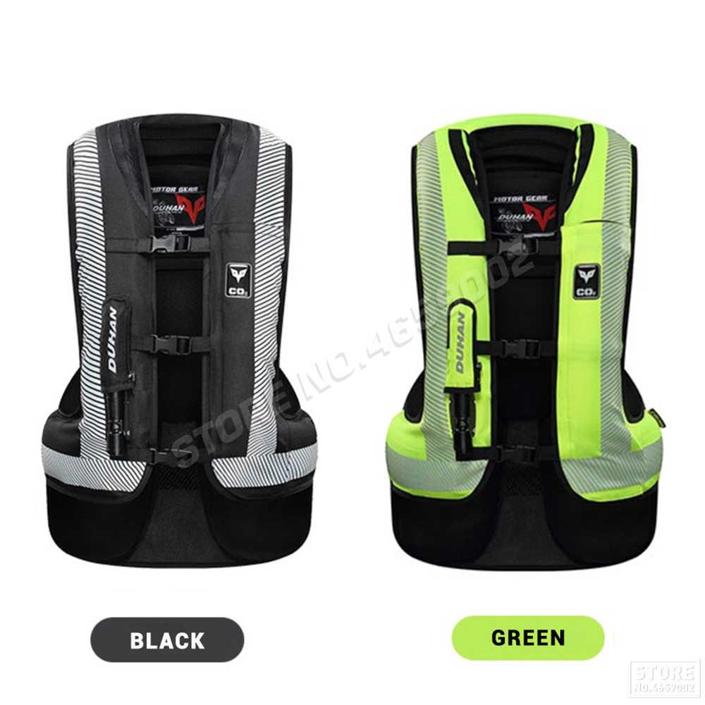 DUHAN Moto Airbag gilet Moto gilet avancé Airbag système équipement de protection réfléchissant Moto Airbag Moto gilet