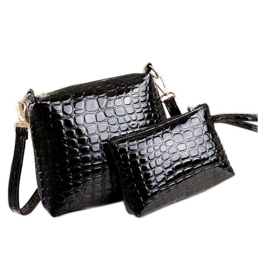 New Arrival Women Handbag PU Leather Shoulder Bag Ladies Alligator Messenger Satchel Purse Tote clutch bag 2018 bolsa feminina S