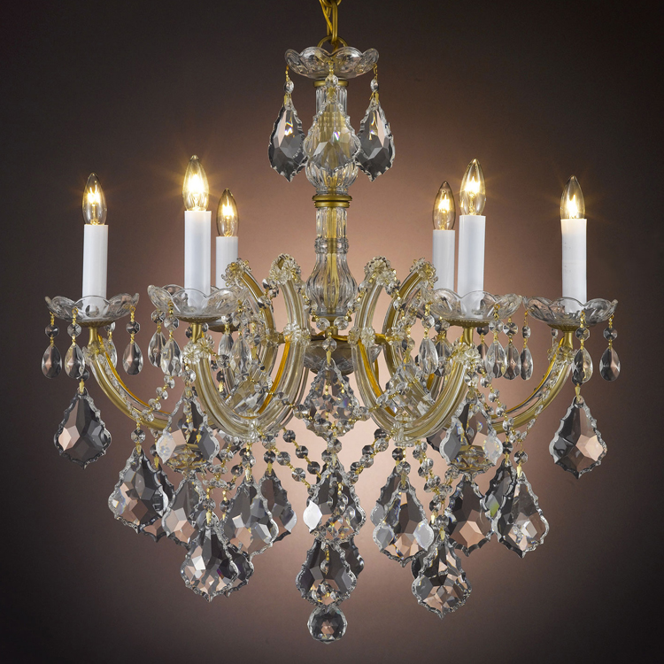 Modern Classic Maria Theresa Crystal Chandelier Hanging Lighting LED Lamp Cristal Glass Chandeliers Light for Home Hotel Decor led crystal chandelier lighting decorative chandelier for wedding led wedding light curtain hanging crystal chandeliers
