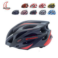 MOON 2016 Upgrade One Integrated Mountain Road Bike Helmet MTB Lightweight High Quality Bicycles