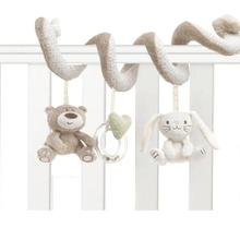 soft baby bed Hanging toy Spiral Activity rabbit Round the B