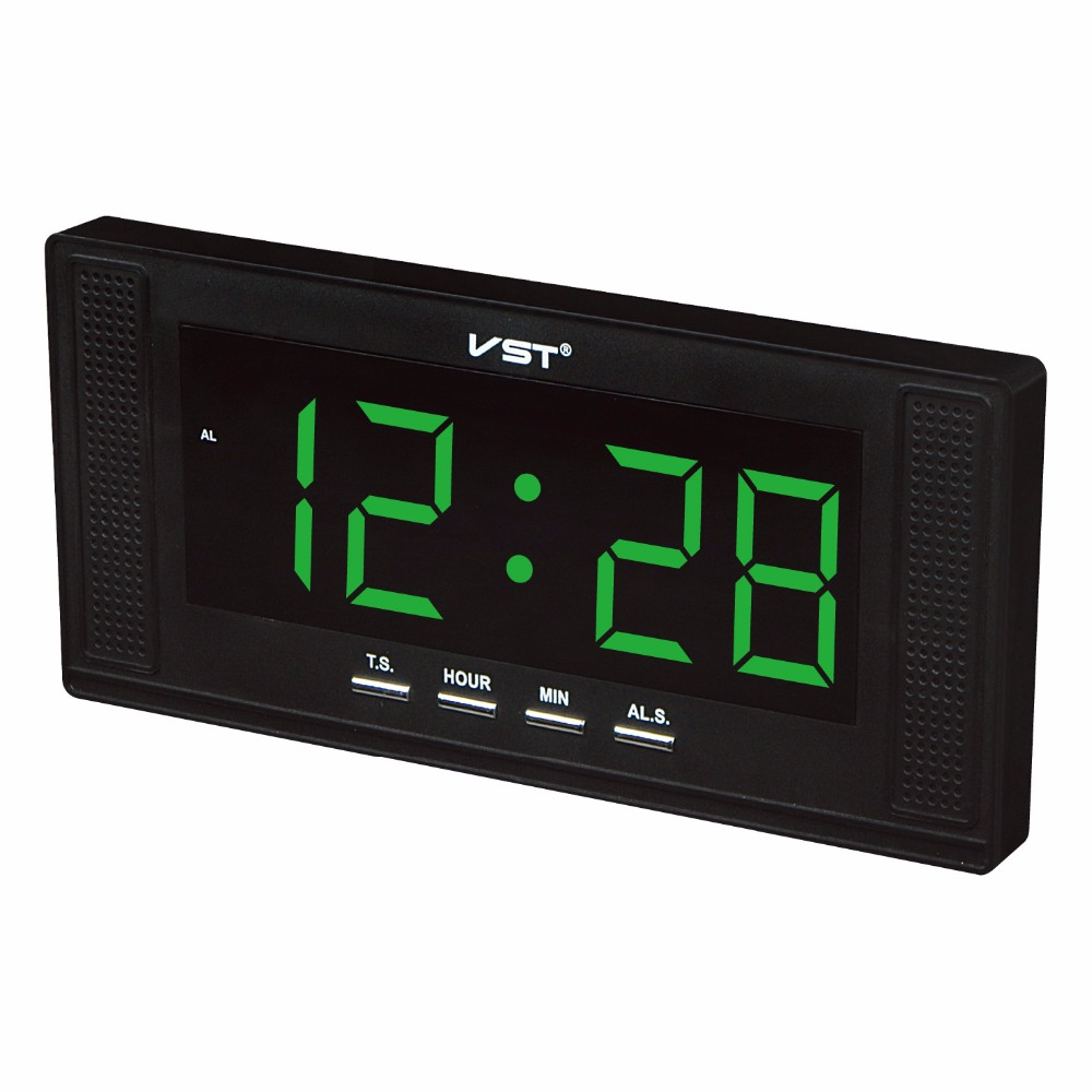 Vst 2 in 1 electronic led wall table alarm clock with eu plug vst 2 in 1 electronic led wall table alarm clock with eu plug brief home decor clock modern digital led alarm wall clock in alarm clocks from home amipublicfo Gallery