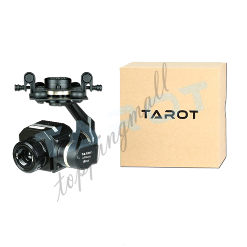Tarot Metal 3 Axis Gimbal Efficient FLIR Thermal Imaging Camera CNC Gimbal TL03FLIR for Flir VUE PRO 320 640PRO tarot metal 3 axle gimbal efficient flir thermal imaging camera cnc gimbal tl03flir for flir vue pro 320 640pro f19797