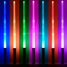 New 7 Colors Switched Star Wars Scalable Lightsaber With Light Sounds Laser Sword Toys Cosplay Weapons