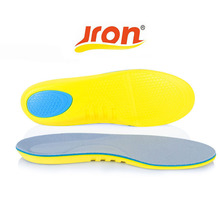 1 Pair Top Quality Memory Foam Sports Insole Gel Silicone Massaging Insole Orthopedic Insole Silicon Plantar Fasciitis Running