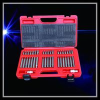 40pcs Star Spline Hex Cross Slotted Socket Bit Set Tool Kit Garage Repair Tools Multi functional Combination Tool Set