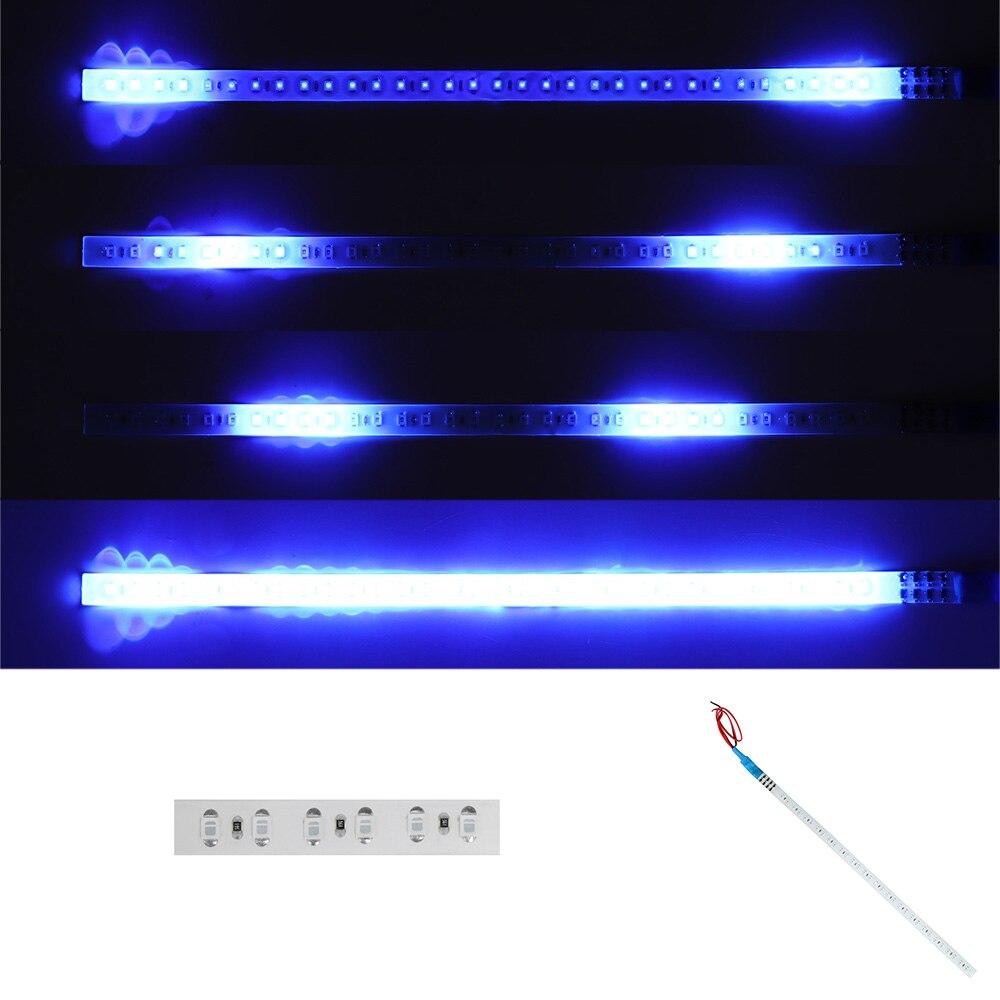 LED Knight Rider Flash Strobe Scanner Neon Strip Light for Car Decoration
