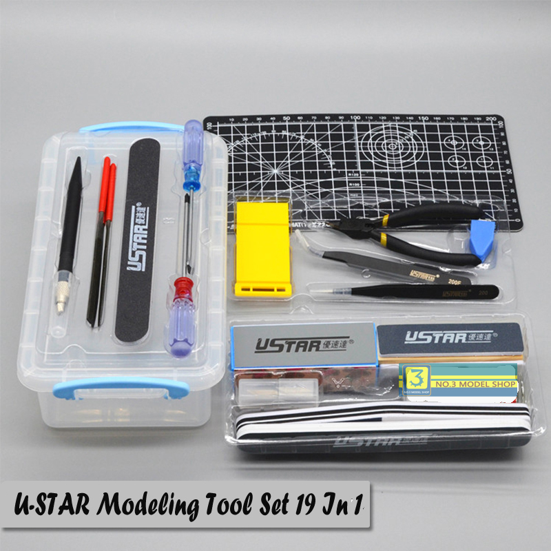 UStar UA90067 Making Model Suits Tools Kit for Gundam Tamiya Trumpeter Model Building Tools Hobby Cutting