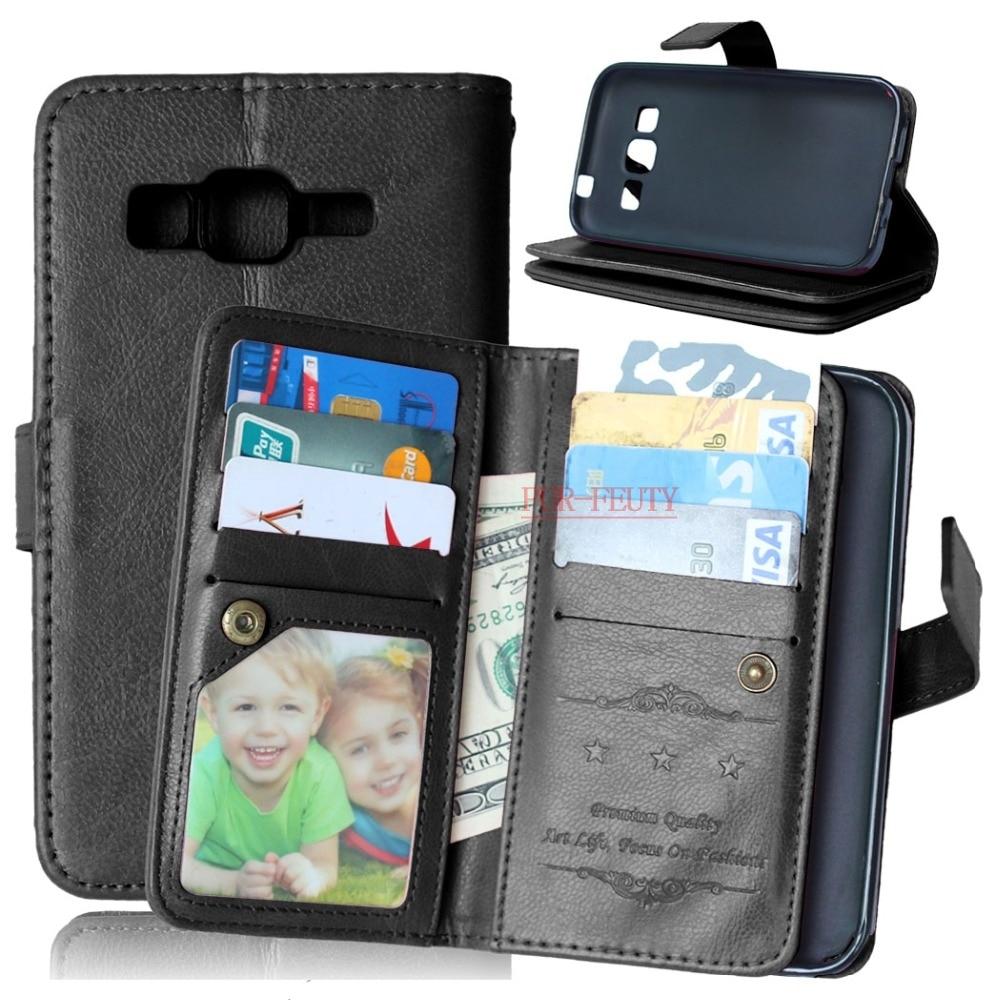 Für Samsung Galaxy Core-Prime G360 VE SM-G361H SM-G360H SM-G361F Fall Flip Leder Telefon Silikonhülle Für Samsung Kern Prime