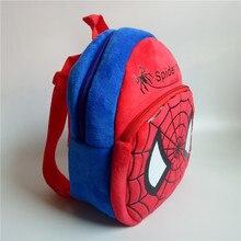 1-3 anni di Bambino bella sacchetti di scuola i bambini Spider Man zaino  della peluche del fumetto zaini Spiderman mini carino s. 2a25840fabb8