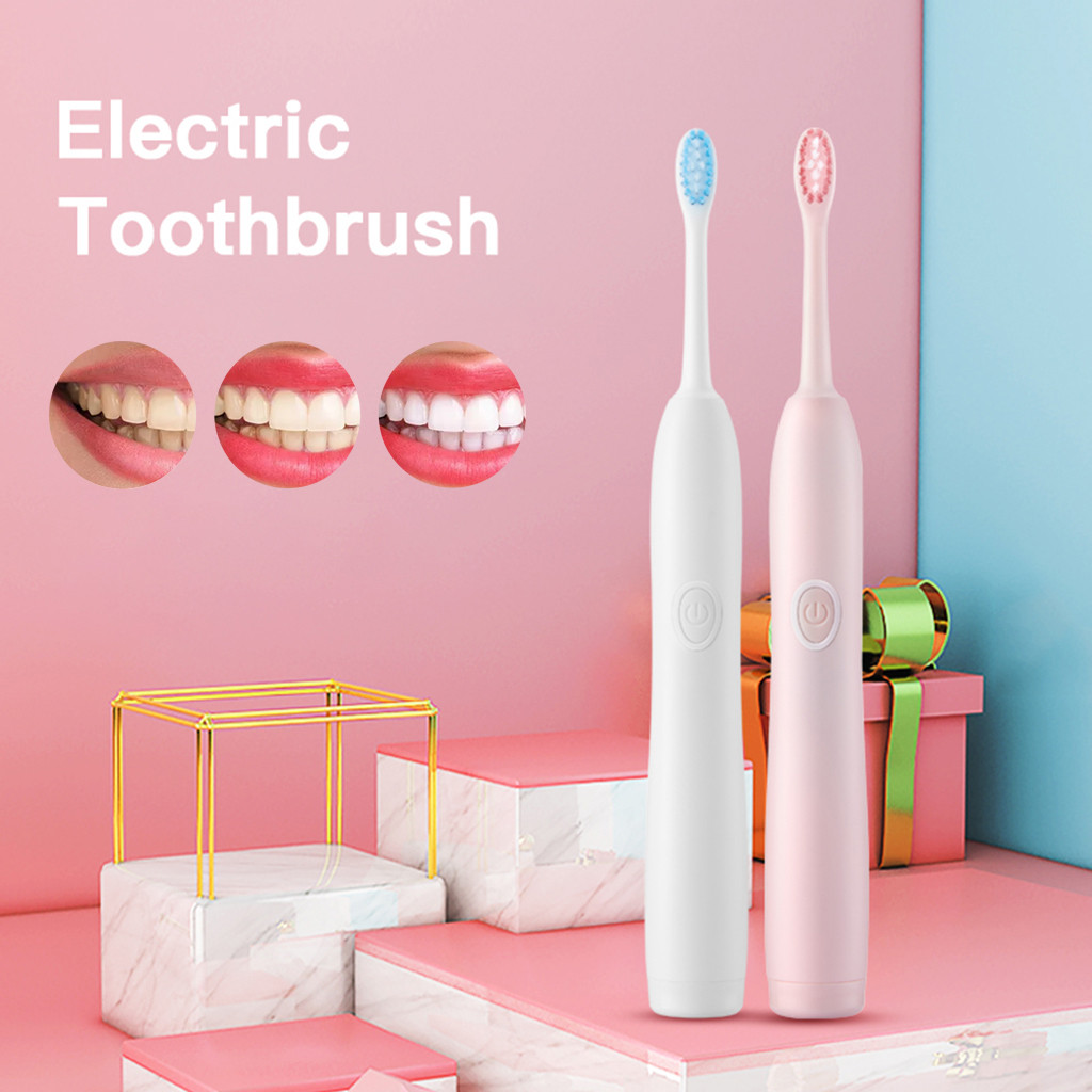 Natural Soft Bristle  toothbrush Small Head Toothbrush Electric Toothbrush 4 Optional Modes Y711(China)