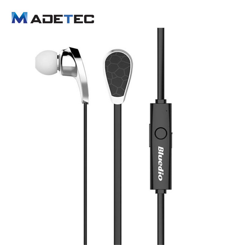 Madetec Bluetooth Headset Bluedio N2 Bionic Sport In Ear Earphones V4.1 EDR Wireless Earphones Stereo Earburs For Iphone 6 PA10 bluedio df630 bluetooth v3 0 edr handsfree stereo headset w charger set for iphone htc black