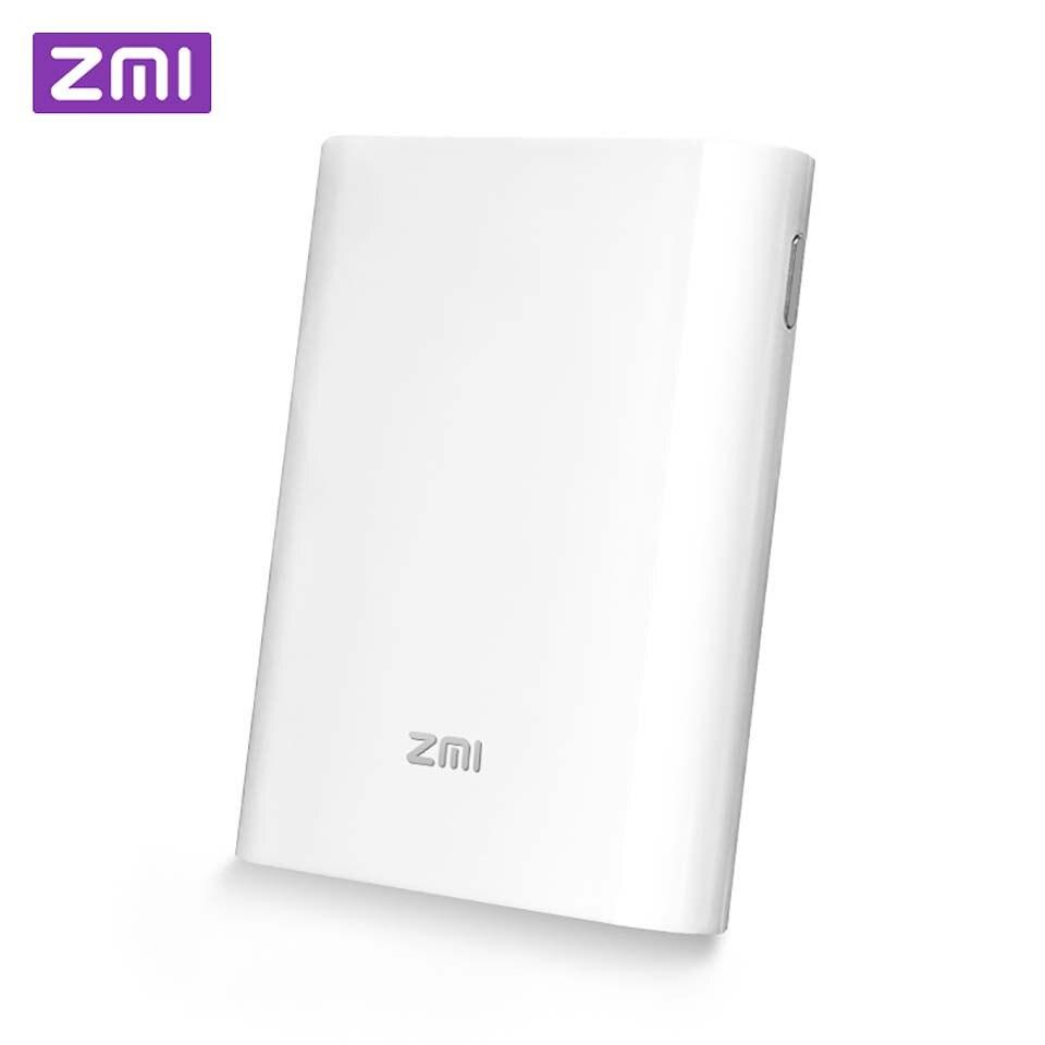 Original Xiaomi ZMI 4G Wifi routeur 7800 mAh batterie externe sans fil wifi répéteur 3G4G routeur Hotspot Mobile 7800 mAh Powerbank MF855