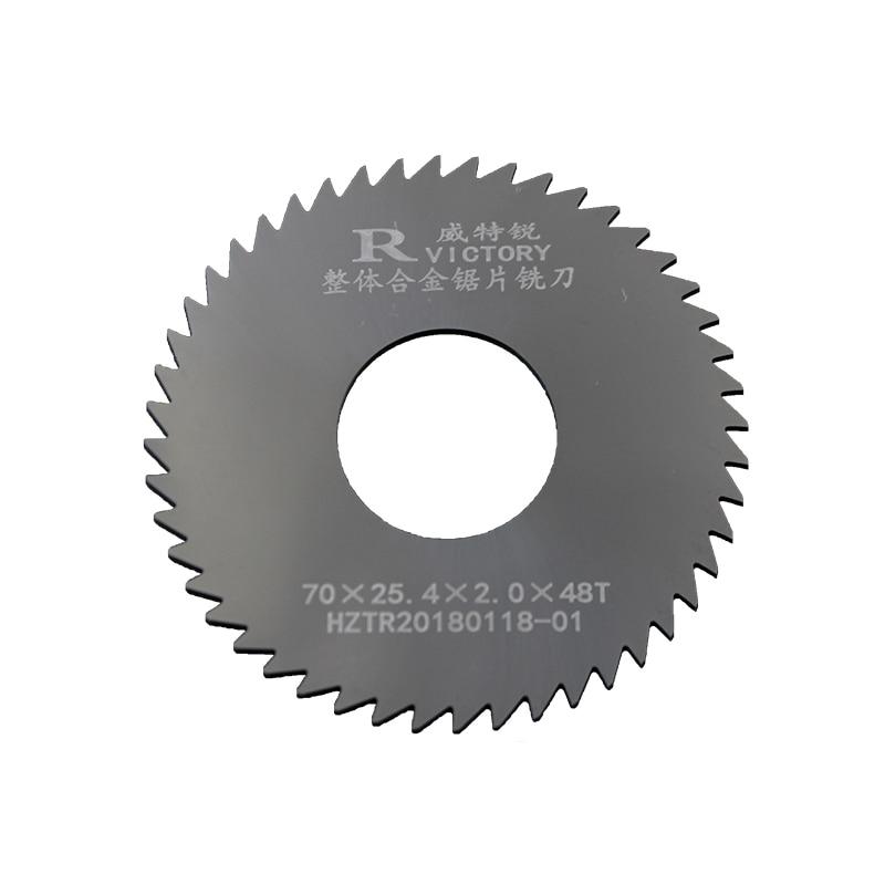 2Pcs Saw Blades Tungsten Steel Diameter 70mm Circular Saw Blades Cutting Tool High Quality