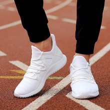 2019 White Breathable Man Casual Shoes Tenis Masculino Adult