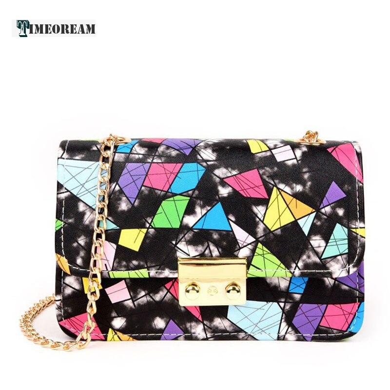 2018 Multicolor Leather Over Shoulder Bags Women Female Irregular PU Crossed Body Crossbody Handbags Bag Ladies N Messenger Ba